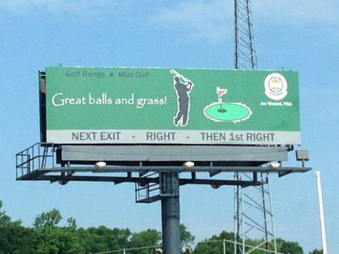 Billboards That Were Clearly Designed By Geniuses