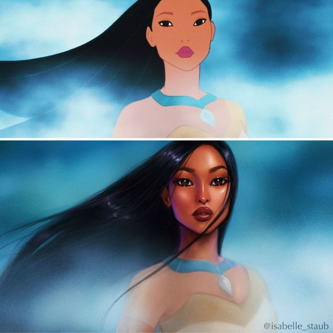 What Disney Princesses Would Look Like If They Were Realistic
