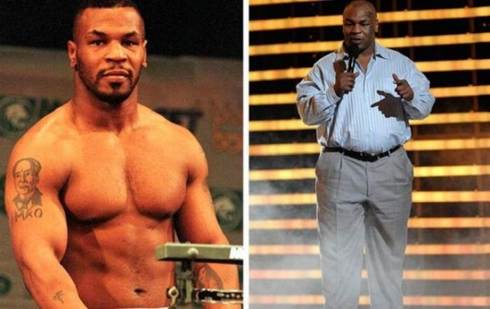 Former Athletes Who Aren't In Shape Anymore