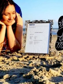 Woman Throws Herself A Special Ceremony On The Beach