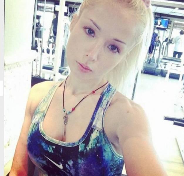 Ukrainian Barbie Girl Shows Off Her No Makeup Photos