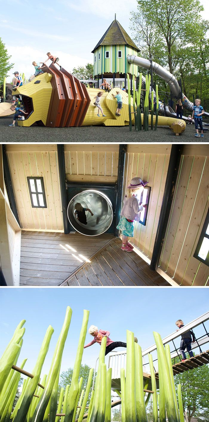 Even Grown Ups Can't Resist These Awesome Playgrounds