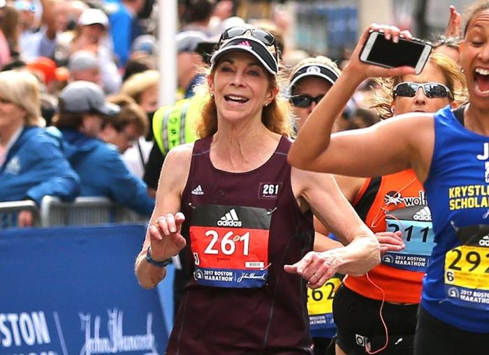 First Woman To Enter Boston Marathon Enters Again 50 Years Later
