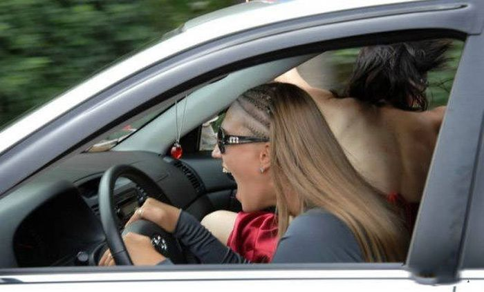 You Should Be Very Afraid When Girls Get Behind The Wheel