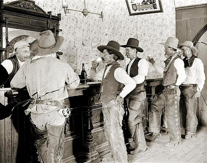 Vintage Photos Capture Life In The Wild West