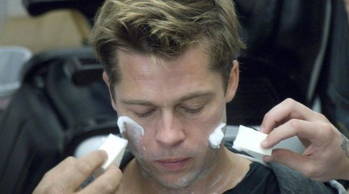 Behind The Scenes Photos From The Curious Life Of Benjamin Button