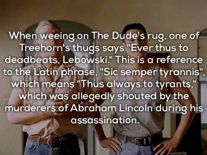 Dude You Need To Know These Big Lebowski Facts