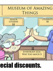 Comics Prove There Is No Difference Between Students And Old People