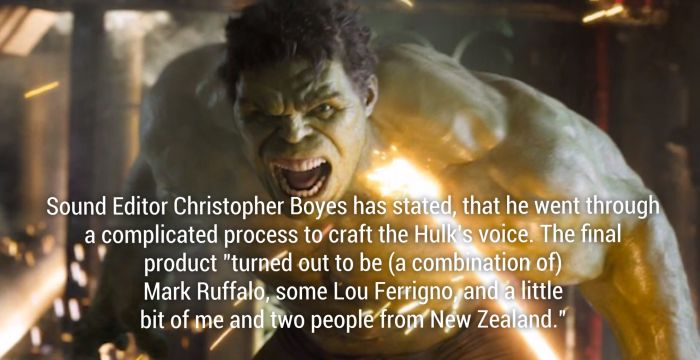 Awesome Facts About The Avengers Movie