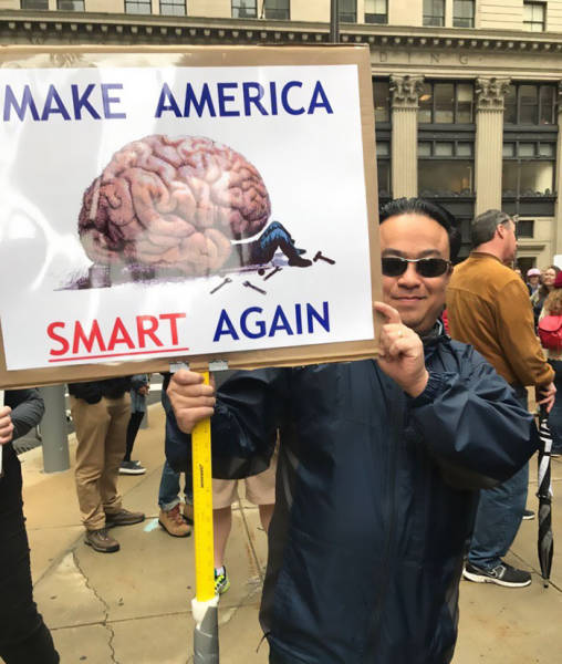 Nerdiness Reached Its Peak With The March For Science