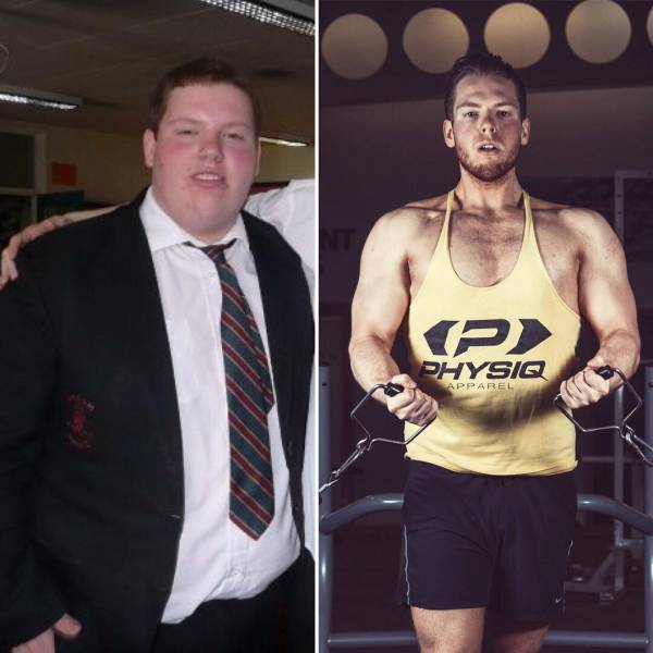 Guys Who Changed Their Weight And Their Lives