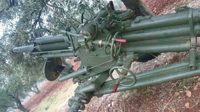 Weapons Fighting The War In Syria