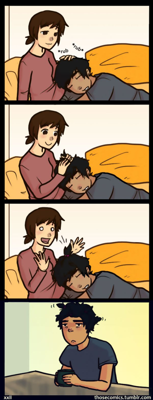 Comics About Couple Life Show Happiness Is In The Little Things
