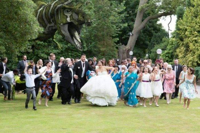 crazy wedding photos that will make you gasp fun