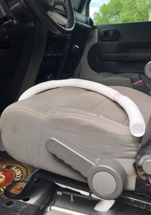 Guy Creates System That Allows Him To Pee While Driving