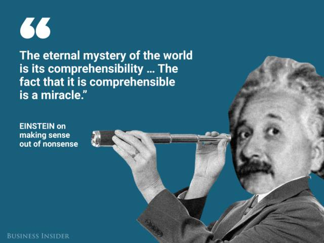 Albert Einstein Was Full Of Brilliant Wisdom
