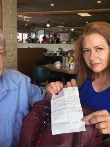 Sierra Vista Woman Finds Shocking Note In Her Purse