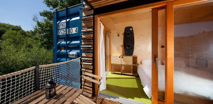 Shipping Containers Can Be Used To Create Awesome Hotels