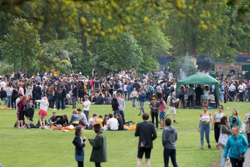 Students Of Cambridge Get Wild