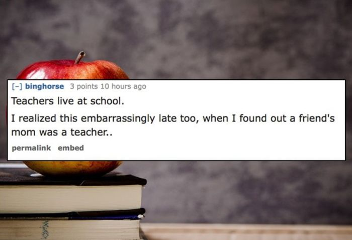 People Share The Dumbest Thing They Believed When They Were Kids