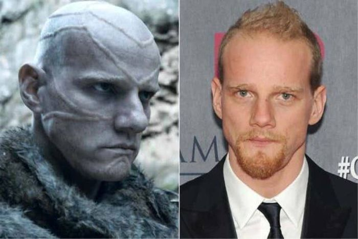 Game Of Thrones Actors Without Masks And Makeup