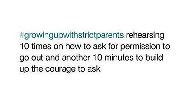 Funny Pics About Life With Strict Parents