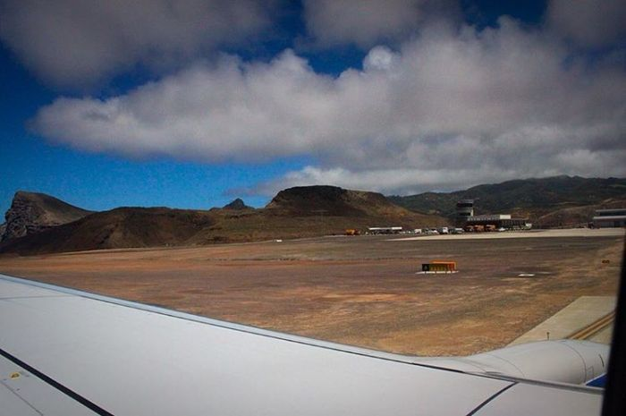 Plane Finally Lands At World's Most Useless Airport