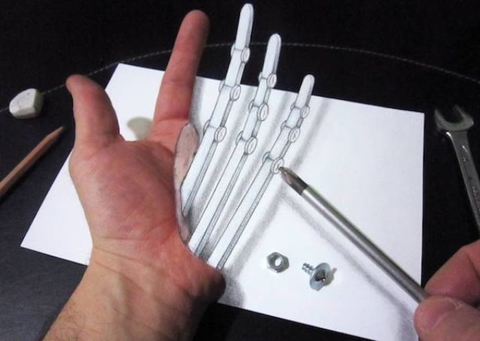 It's Hard To To Believe These 3D Illusions Are Created With Just A Pencil