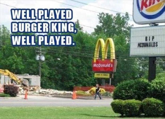 Fast Food Chains Are Good At Food But Not Street Signs