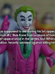 Ominous Facts About The Iconic Batman Villain The Joker