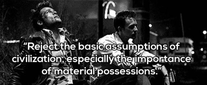 Tyler Durden Quotes That Will Make You Rethink Your Life
