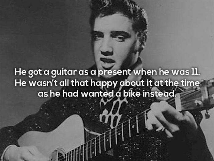 Rocking Facts About The One And Only Elvis Presley