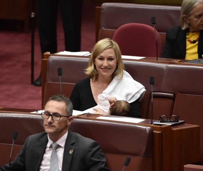 Larissa Waters Becomes First Woman To Breastfeed In Australia's Parliament
