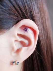 Tiny Tattoos For People Who Like Minimalism