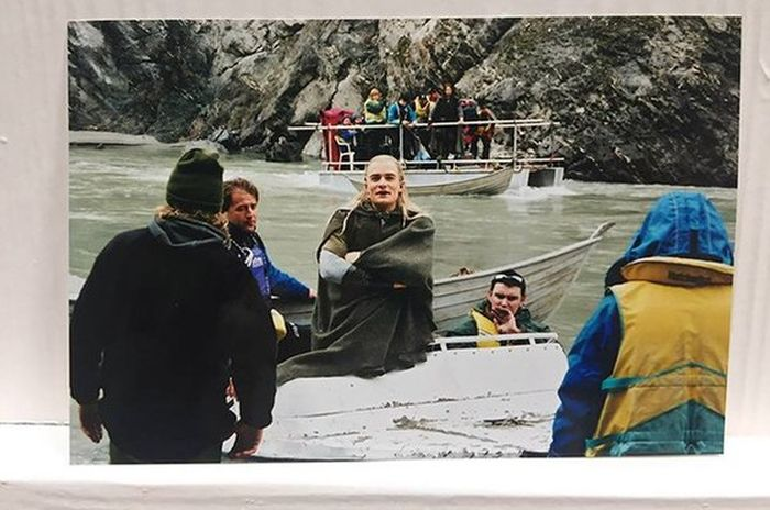 Orlando Bloom Shares Behind The Scenes Photos From The Lord Of The Rings