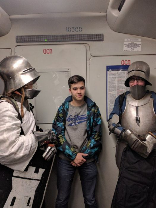 Baffling Sights You Can Only See On The Russian Metro