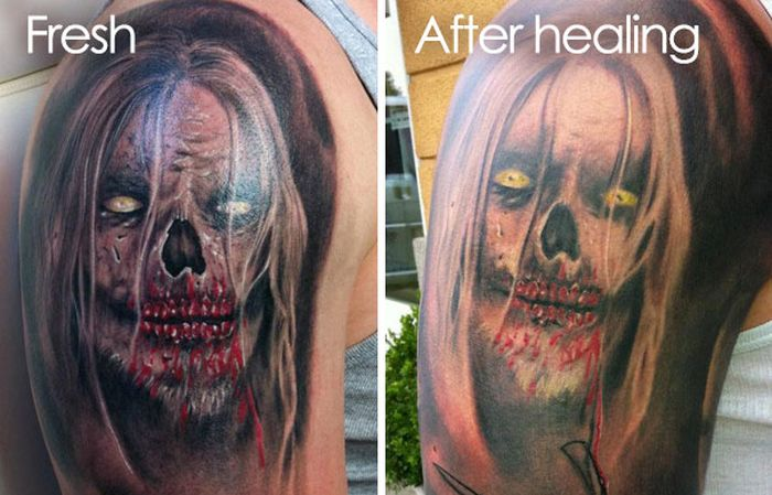 Pictures That Reveal How Tattoos Age Over Time