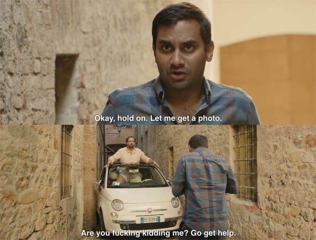 The Hilarious Stuck Car Scene From Master Of None Really Happened