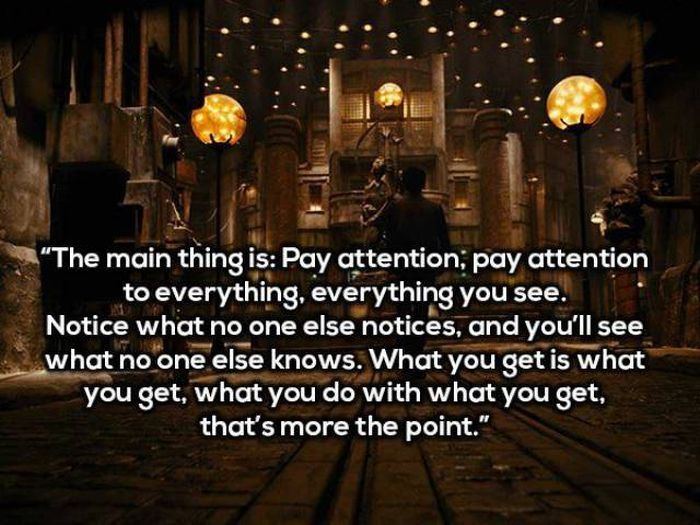 Movies Are An Excellent Source Of Inspiration