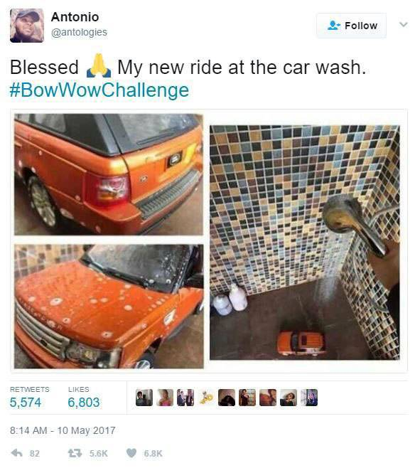 The Internet Owned Bow Wow With The Bow Wow Challenge