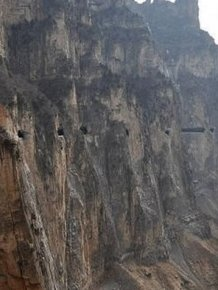 Global Travelers Are Astonished By China's Hand Chiseled Hanging Highway