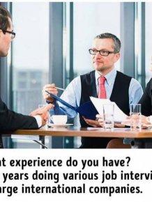 Hilarious Truths About Job Interviews