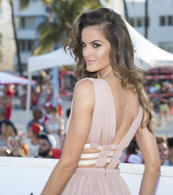 Wind Exposes Victoria's Secret Angel Isabelle Goulart At The Baywatch Premiere