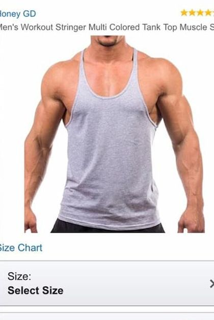 Guy Orders A Muscle Shirt But Gets A Dress Instead