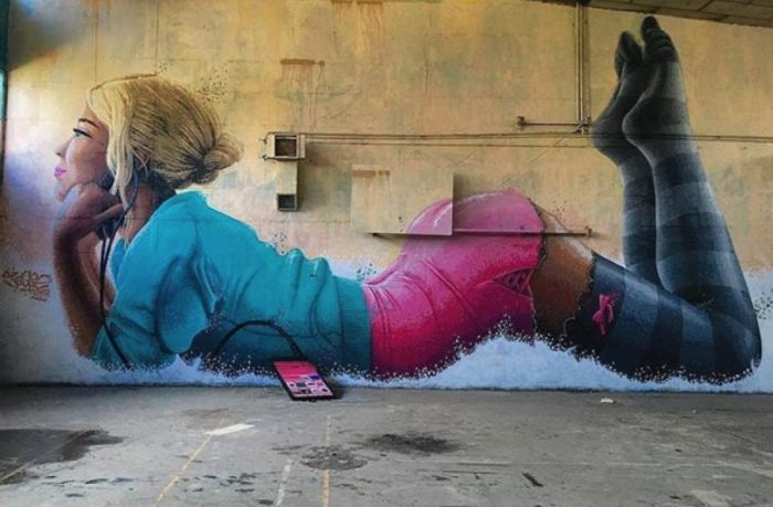 Street Art That's On The Verge Of Hooliganism