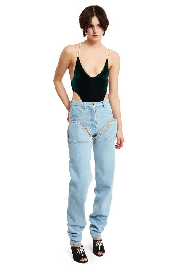 Detachable Cut Out Jeans Really Are The Worst
