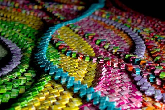 This Dress Was Made Using 10,000 Candy Wrappers