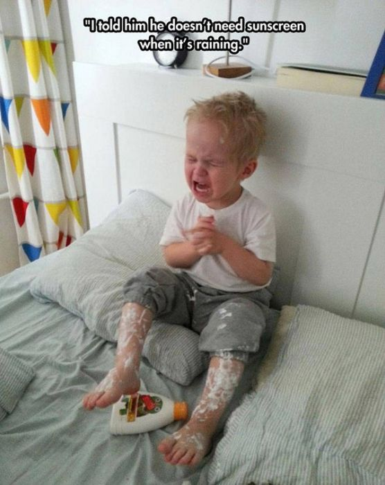 Kids With Really Good Reasons To Cry