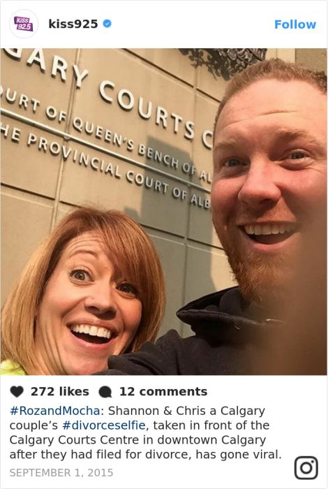 Divorce Selfies Are A Thing Now And They're Awesome
