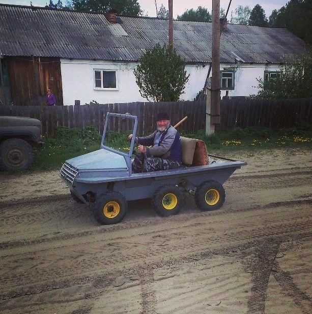 Authentic Photos Of Russian Rednecks